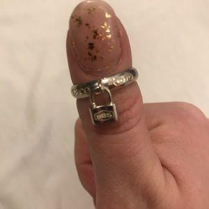 Jewelry - Return to Tiffany's, Lock Ring, Size 8